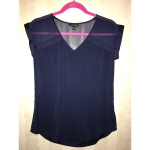 Navy blue Express blouse